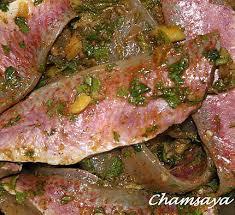cuisiner des rougets recette de rougets à la marocaine