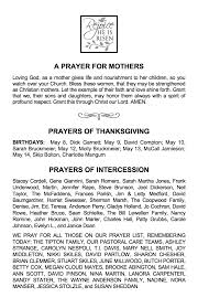 thanksgiving prayer for children events news u2013 page 18 u2013 saint andrew u0027s episcopal church