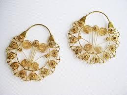 gold earrings philippines 29 best filigree images on hoop earrings filigree and