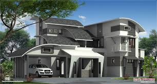 modern exterior house design in white also grey paint color for