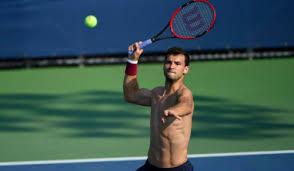 grigor dimitrov watch grigor dimitrov rips apart his t shirt opponent andrey