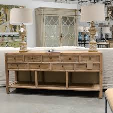light wood console table the beautiful life with the girls at bella vita