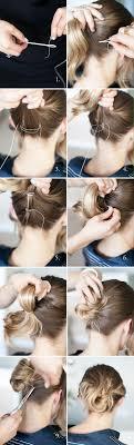Schnelle Hochsteckfrisurenen Kurze Haare by Die Besten 25 Kurze Haare Brötchen Ideen Auf Kurzer