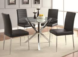 Glass And Chrome Dining Table Dining Dining Table Bases For Glass Tops Glass And Chrome Dining