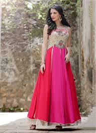 gown for wedding buy online wedding party gown from usa pink embroidered gown