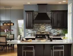 kitchen black backsplash tile red glass tile backsplash