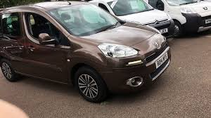 used peugeot partner tepee brown for sale motors co uk