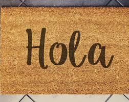 Coco Doormat Aloha Doormat Etsy
