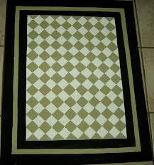 Harlequin Rug Harlequin Green Kitchen Rug Sage Green And Black Floorcloth French
