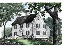Colonial House Style 309 Best New England Colonial Saltbox Houses Images On Pinterest