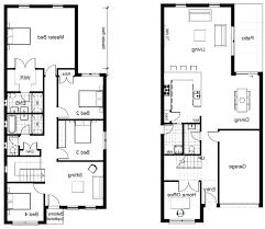 blueprints houses sle floor plans for houses sle house floor plan 2 storey