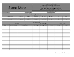 Basketball Stat Sheet Template Excel Free Personalized Football Sheet