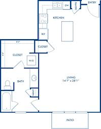 1 2 3 bedroom apartments in dallas tx camden henderson blueprint of ea2 floor plan 1 bedroom and 1 bathroom at camden henderson apartments in