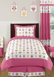Owl Bedding For Girls by Pink Happy Owl Baby Girls Bedding And Decor