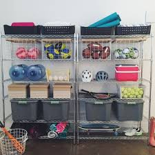 13 best neat garages images on pinterest ball storage garage