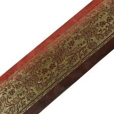 woven ribbon vintage saree border indian craft trim antique zari woven ribbon 2
