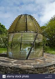House Lens Lighthouse Fresnel Lens Relocated As A Feature In Colonsay House