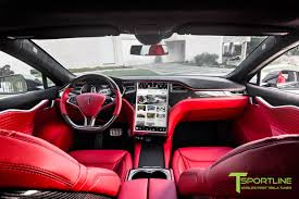obsidian black color obsidian black tesla model s 2 0 custom ferrari rosso interior