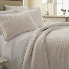 Quilted Bed Frame Ivory Bedding Sets You Ll Wayfair
