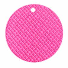 Pink Kitchen Accessories by Aliexpress Com Buy Silicone Kitchen Table Mats Round Dining