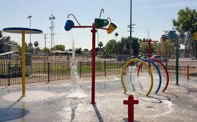commercial splash pad parks and splash pads rain deck