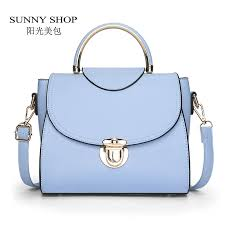 sunny shop new candy color fashion women shoulder bags lady