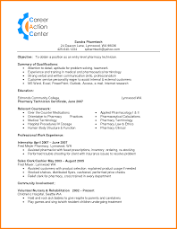 Cvs Pharmacy Resume Resume Cvs Pharmacy Resume