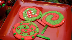 christmas lollipop sugar cookies recipe pillsbury com