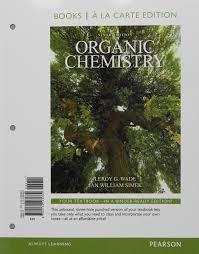 organic chemistry books a la carte edition 9th edition leroy g