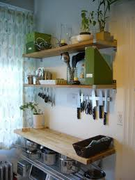 Kitchen Rack Designs by Kitchen Shelves And Racks Built In Stove And Oven Big White