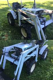 heavy equipment bolens iseki h1704 tx2160 4wd compact tractor and