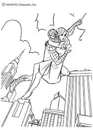 spiderman girlfriend coloring pages hellokids