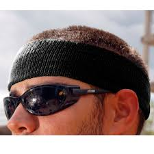 sweatbands for ergodyne chill its 6550 sweatband black fullsource