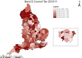 Tax Map Council Tax Bands London Map London Map
