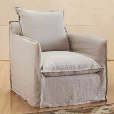 montmartre linen slipcovered chair vivaterra