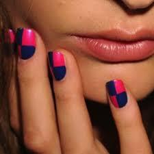 nail polish nail art at new york fashion week spring 2012