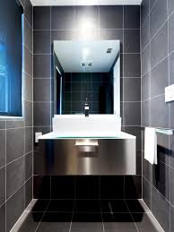 black tile bathroom ideas 9 bold bathroom tile designs hgtv s decorating design hgtv