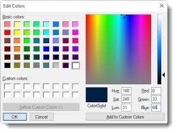 pick color windows 10 personalization page shows only 24 choices for