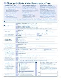 new york state voter registration form free download