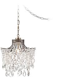 Swag Lighting Ideas by Hanging Lights That Plug Into Wall With Brielle Antique Brass 12