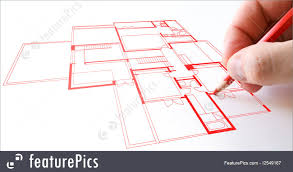 plan drawing construction house plan drawing stock picture i2549167 at featurepics