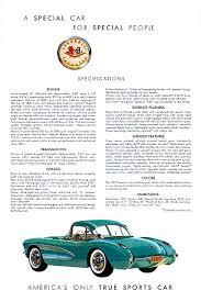 corvette manufacturer 1957 corvette specs colors facts history and performance