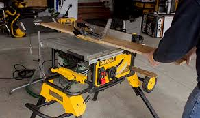 dewalt jobsite table saw accessories dewalt dwe7491rs table saw review tool box buzz tool box buzz