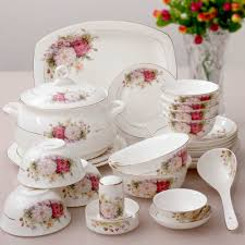 56 pieces a sets kupper bone china dinnerware set bone china