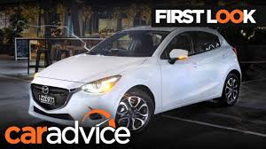 mazda 2 usa 2017 mazda 2 first look review caradvice youtube
