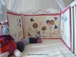 décoration chambre bébé à faire soi même deco chambre bebe a faire soi meme tour de lit en coton bio a