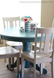 painted chairs images transforming a table u0026 chairs with annie sloan chalk paint
