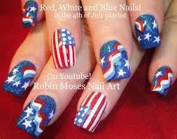 30 fabulous red white and blue nail art designs u2013 slybury com