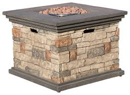 Fire Pit Rocks by Crawford Outdoor Fire Pit With Lava Rocks Traditional Fire