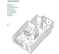 studio layout new york greenwich village studio apartment with smart layout
